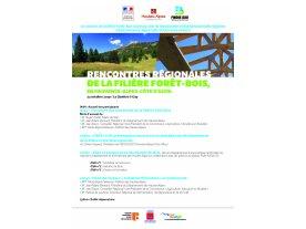 Rencontres régionales pour l'avenir de l'agroalimentaire et du bois